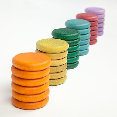 Grapat 36 X Coins (6 Non Basic Colours)