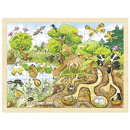 Goki Puzzle, Exploring Nature