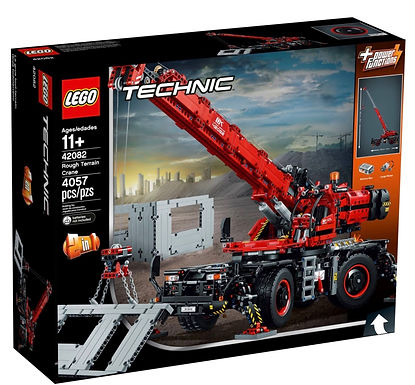 Lego 42082 Technic Rough Terrain Crane