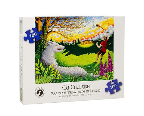 Gosling Games Cú Chulainn 100 Piece Puzzle