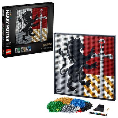 LEGO ART 31201 Harry Potter Hogworths Crests