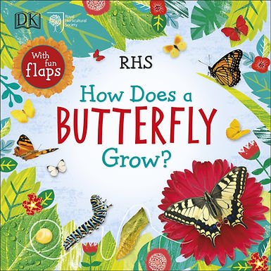 Books - How Does a Butterfly Grow?