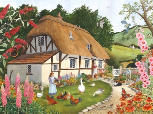 The House of Puzzles - PRETTY AS A PICTURE  - Big 500 piece Jigsaw