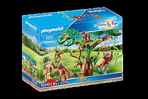 Playmobil 70345 Family Fun Orangutans with Tree