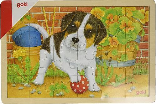 Goki Little Dog Puzzle
