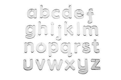 TickiT Mirror Letters L/C Small 7Cm