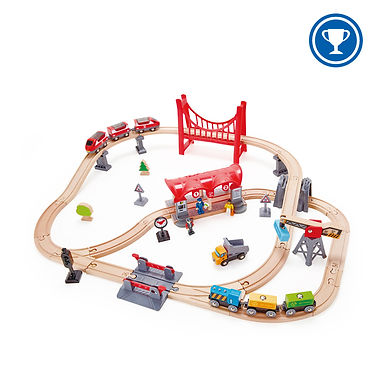 BUSY CITY RAIL SET from HAPE