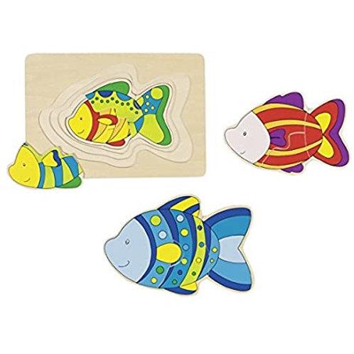 Goki Puzzle Fish
