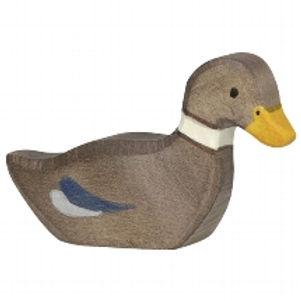 Holztiger Duck, Swimming