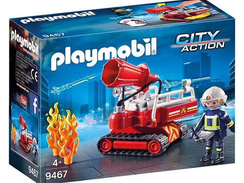 Playmobil 9467 City Action Fire Water Cannon