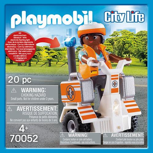 Playmobil 70052 City Life Hospital Emergecy Balance Racer