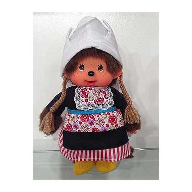 Monchhichi Girl in Dutch Dress
