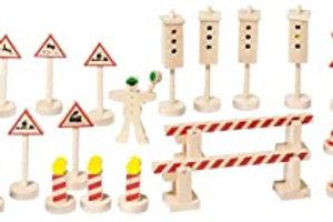 Goki Traffic Signs Set