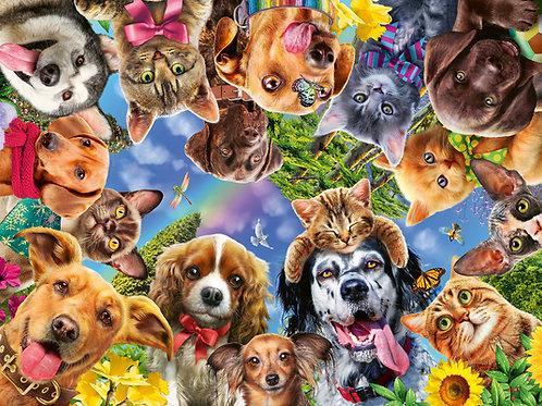 Ravensburger Animal Selfies 500pc Jigsaw Puzzle