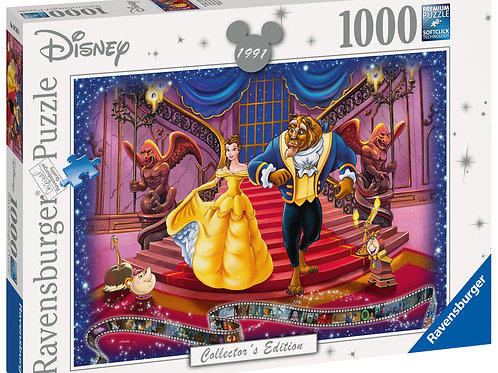 Ravensburger Disney Collector's Edition Beauty & The Beast, 1000pc Jigsaw Puzzle