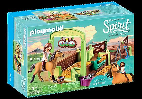 Playmobil DreamWorks Spirit 9478 Lucky and Spirit