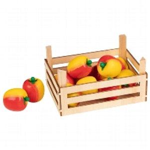 Goki Apples In Fruit Crate