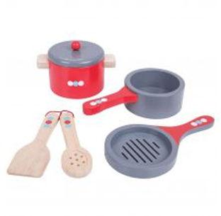 BigJigs Cooking Pans