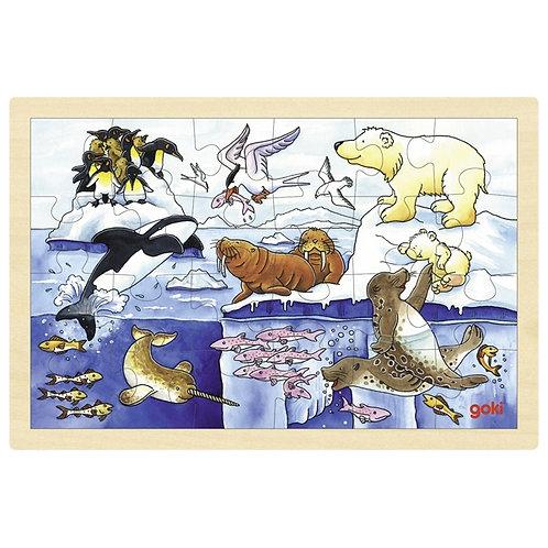 Goki Puzzle Artic Animals