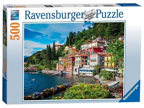 Ravensburger Lake Como, Italy, 500pc Jigsaw Puzzle