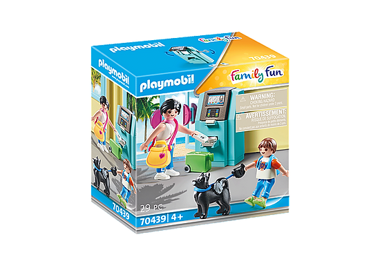 Playmobil 70439 Family Fun Beach Hote Tourists with ATM