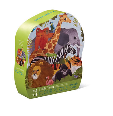 Crocodile Creek Jungle Friends 36-piece floor puzzle