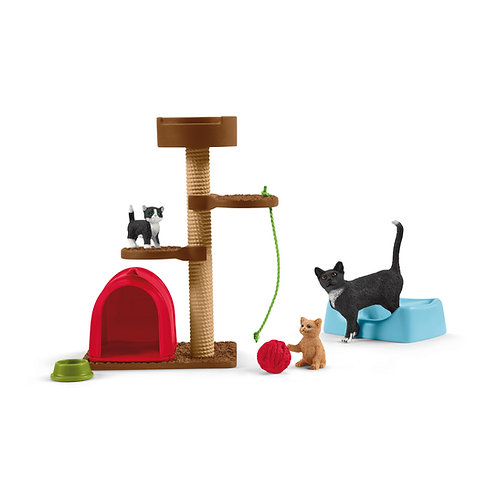Schleich Playtime For Cute Cats