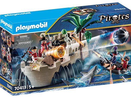 Playmobil 70413 Pirates Defence Island