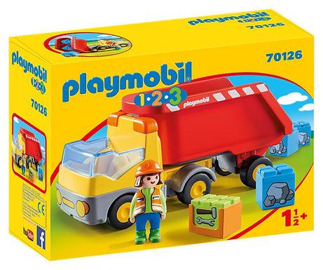 Playmobil 1.2.3 70126 Dump Truck