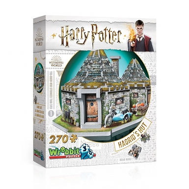 WREBBIT Harry Potter: Hagrid's Hut