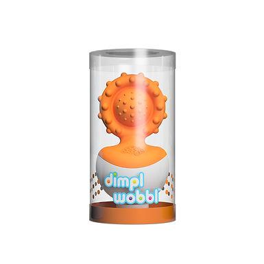 Fat Brain Toys  Dimpl Wobbl Orange