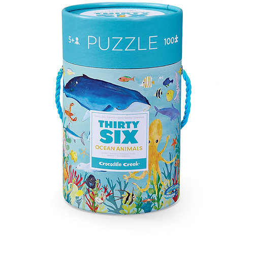 Crocodile Creek  Thirty-Six Ocean 100 piece Jigsaw Puzzle