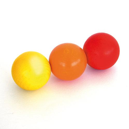 Erzi Marble Set 3 Wooden Balls