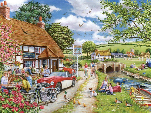 The House of Puzzles - SUNDAY LUNCH - 1000 piece Jigsaw