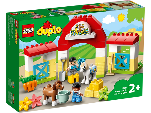 DUPLO 10951 Horse Stable & Pony Care