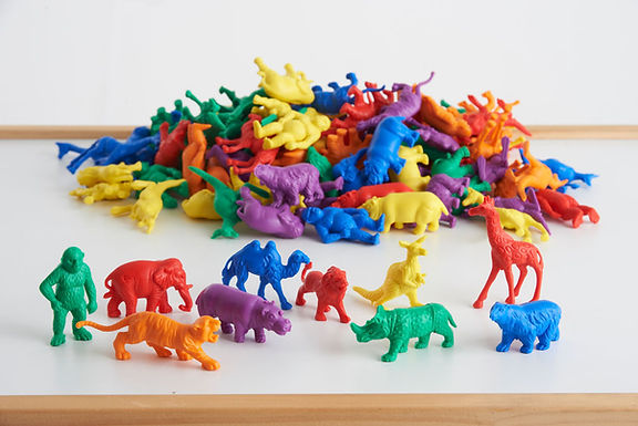 Edx Education Wild Animal Counters