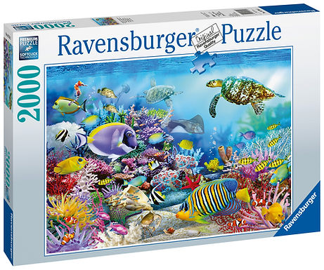 Ravensburger Coral Reef Mystery, 2000pc Jigsaw Puzzle
