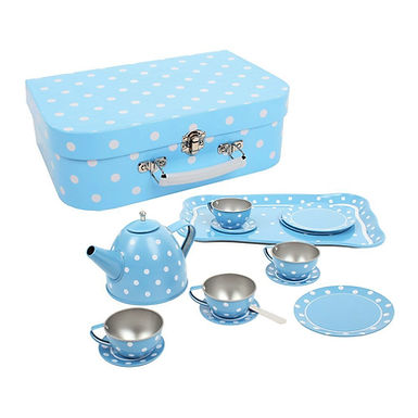 BigJigs Blue Polka Dot Tea Set