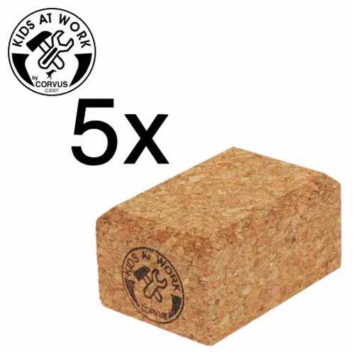 Tools for Juniors  Sanding Blocks, 5Pcs