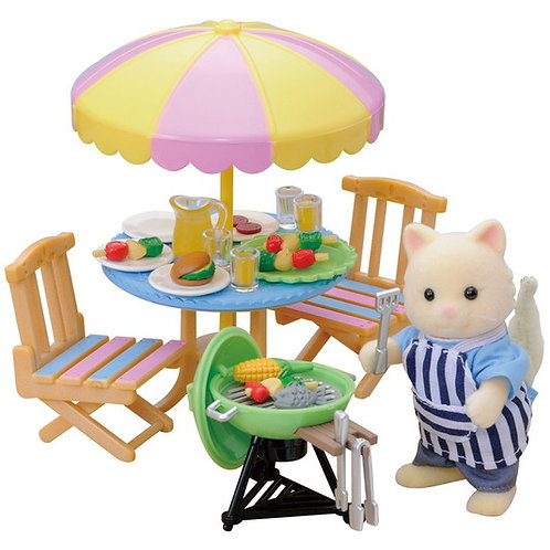 Sylvanian's Garden Barbecue Set