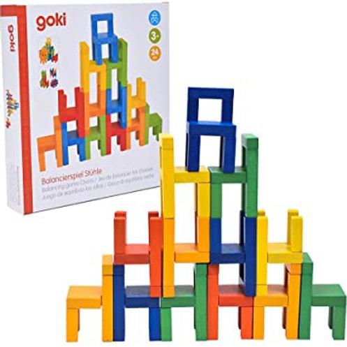 Goki Balancing Game, Chairs