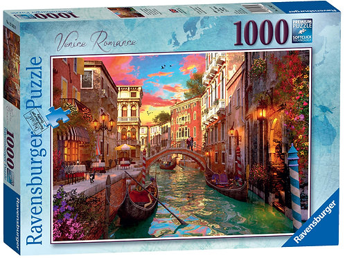Ravensburger Venice Romance, 1000pc Jigsaw Puzzle