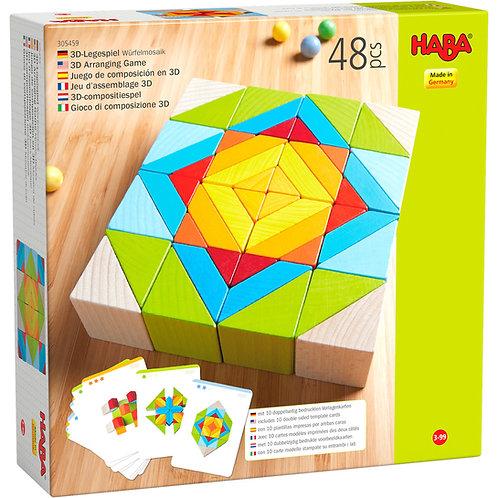 Haba 3D Arranging Game Mosaic Blocks