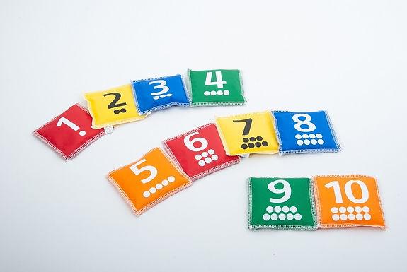 Edx Education Number & Dot Bean Bags