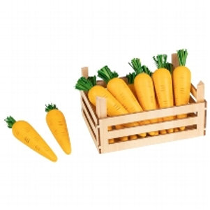 Goki Carrots In Vegetable Crate
