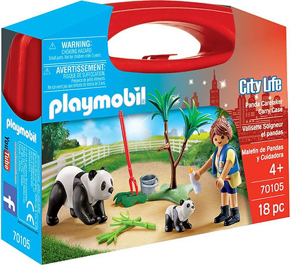 Playmobil 70105 Panda Caretaker Carry Case