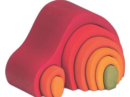 Gluckskafer Red 8 Piece Arch House