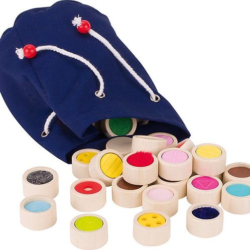 Goki Feel-A-Pair Memo Game - In A Cotton Bag