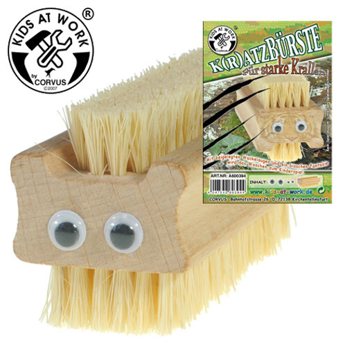 Tools for Juniors  Wire Brush Racoon