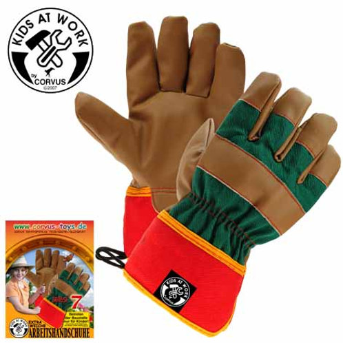 Tools For Juniors  Work Gloves Aged 6-7